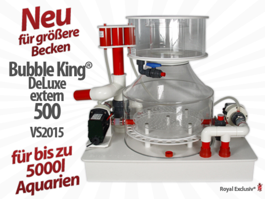 Royal Exclusiv Bubble King DeLuxe 500 extern 2015 Abschäumer