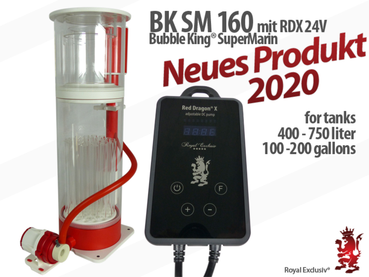 Royal Exclusiv Bubble King Supermarin 160 mit Red Dragon X