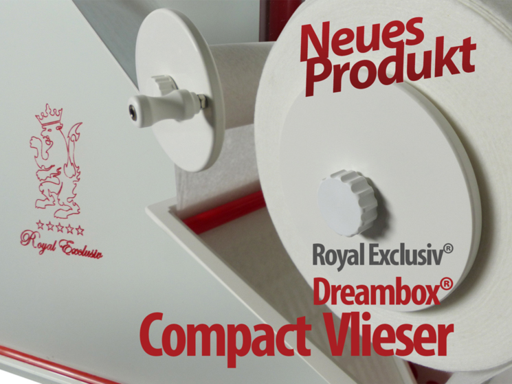 Royal Exclusiv Dreambox COMPACT Vlieser Vlies Roller
