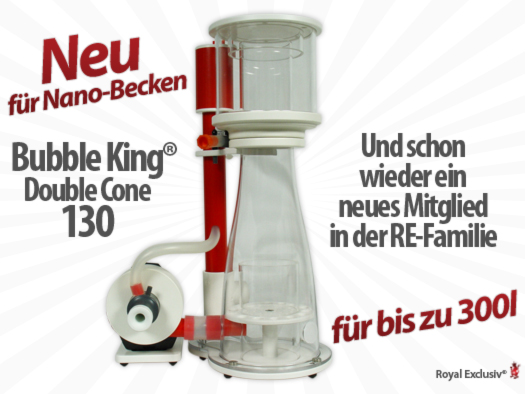 Royal Exclusiv Bubble King Double Cone 130 Eiweiß Abschäumer