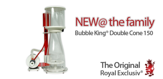 Bubble King Double Cone 150