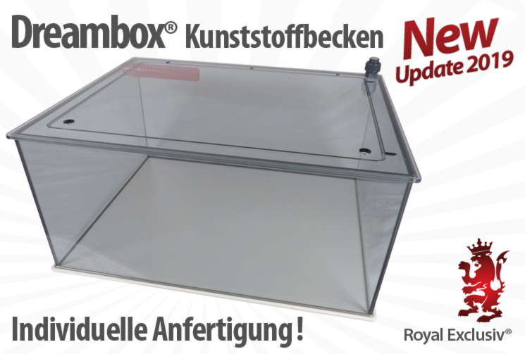 Royal Exclusiv Dreambox aquarium auf sonder wunsch masz