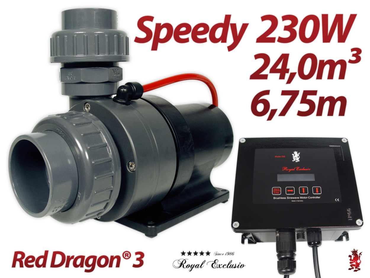 Royal Exclusiv Red Dragon 3 Speedy 230W Pump