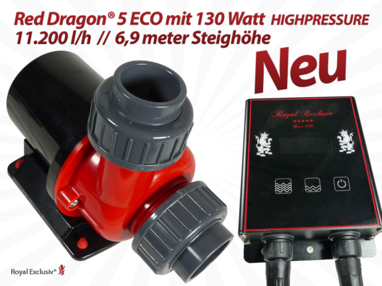 Royal Exclusiv Red Dragon 5 ECO pumpe 130W