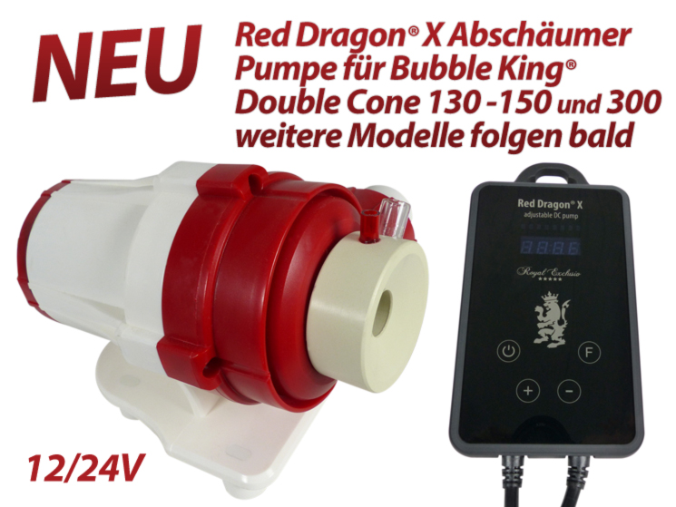 Royal Exclusiv Abschäumer pumpe Red Dragon X