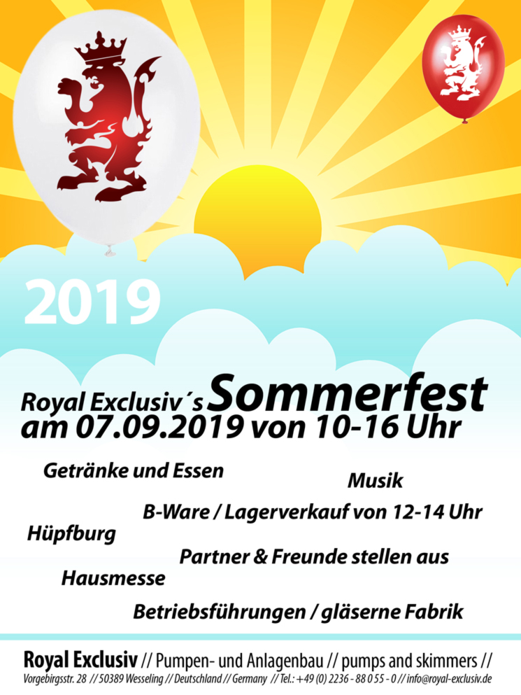 Royal Exclusiv Sommerfest 2019