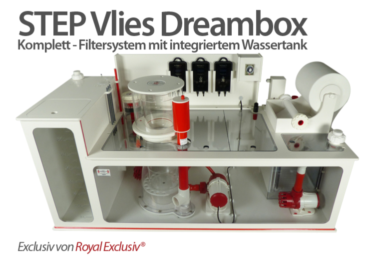 Royal Exclusiv STEP DREAMBOX filter system mit Wassertank