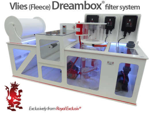 Vlies fleece Dreambox filter system Royal Exclusiv
