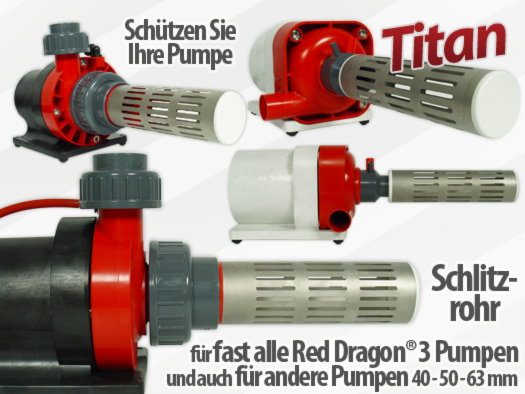 Royal Exclusiv Red Dragon schlitzrohr schutz Pumpe