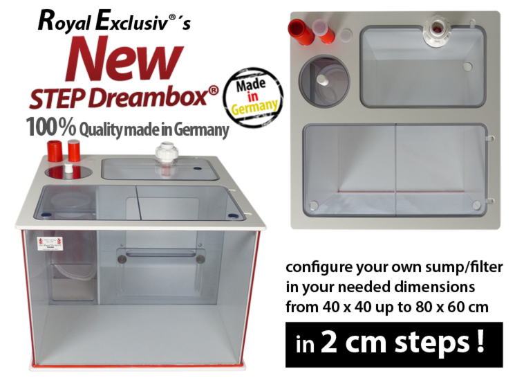Royal Exclusiv STEP Dreambox filter system reefer reef sump