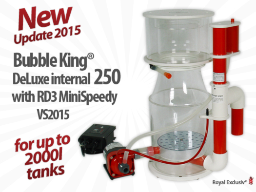 Royal Exclusiv Bubble King DeLuxe 250 internal 2015 skimmer