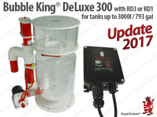 Bubble King DeLuxe 300 skimmer Update 2017 Royal Exclusiv
