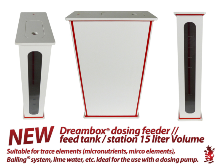 Royal Exclusiv Dreambox dosing feeder / station 15 liter