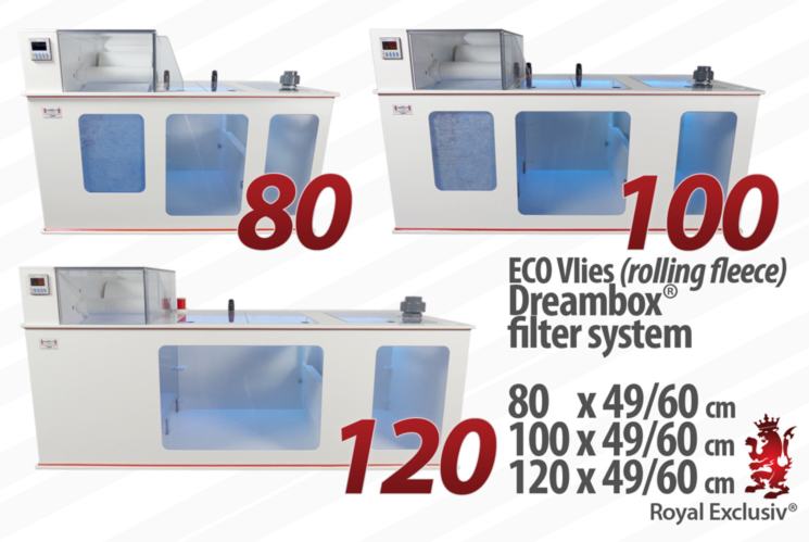 Royal Exclusiv ECO Vlies Dreambox filter system