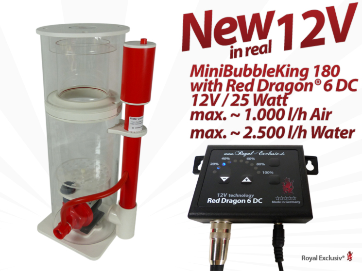 Royal Exclusiv Red Dragon 6 Aquabee Mini Bubble King 180