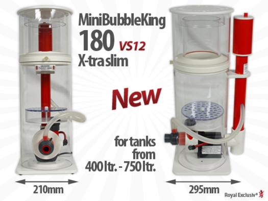 MBK Mini Bubble King 180 extra slim schmal