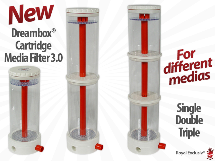 Royal Exclusiv Dreambox Media filter reactor cartridge