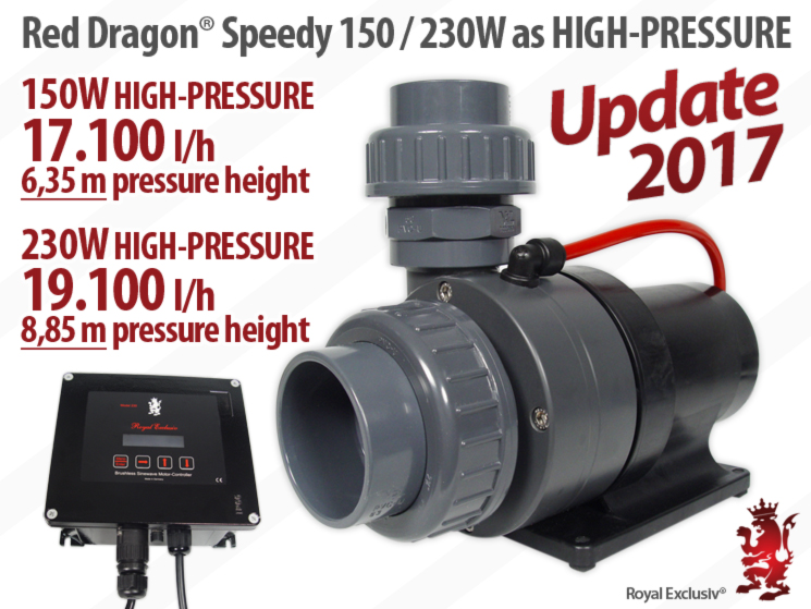 Royal Exclusiv RED DRAGON 3 Speedy High Pressure Version