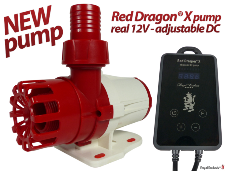 Royal Exclusiv Red Dragon X new Pump Series