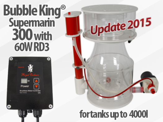 Royal Exclusiv Bubble King Supermarin 300 Version 2015 skimmer