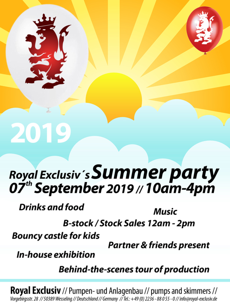 Royal Exclusiv Summer Party Sommerfest 2019