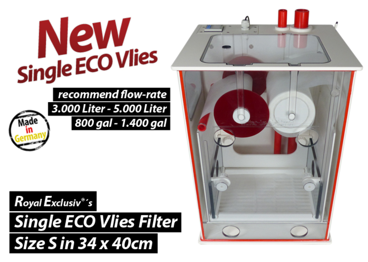 Royal Exclusiv Dreambox Vlies fleece filter