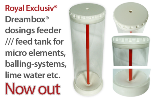Dreambox dosing feeder feed tank