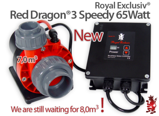 RD3 Speedy 65Watt deliver pump