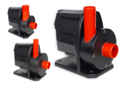 turned Red Dragon® 1 flow pumps