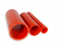 PVC pipe red per meter Ø 25 mm