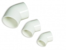 PVC 45° elbow Ø 40 mm