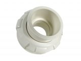 screw connection complete Ø 63 mm white