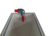 automatically Bubble King® Over-flow-stopper for skimmer